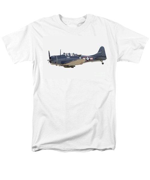 Vintage World War II Dive Bomber Men's T-Shirt  (Regular Fit) by Kevin McCarthy