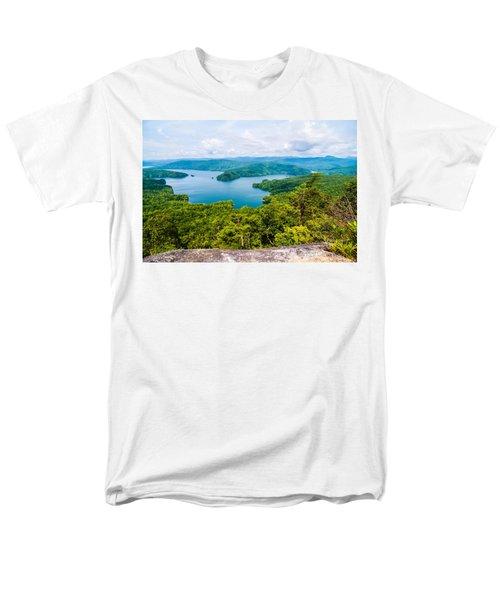 Scenery Around Lake Jocasse Gorge Men's T-Shirt  (Regular Fit) by Alex Grichenko