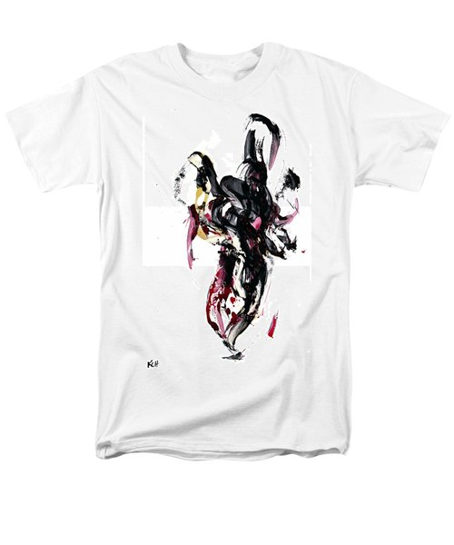 Men's T-Shirt  (Regular Fit) featuring the painting 10118.110409 - Dance Of The Universe 1 by Kris Haas