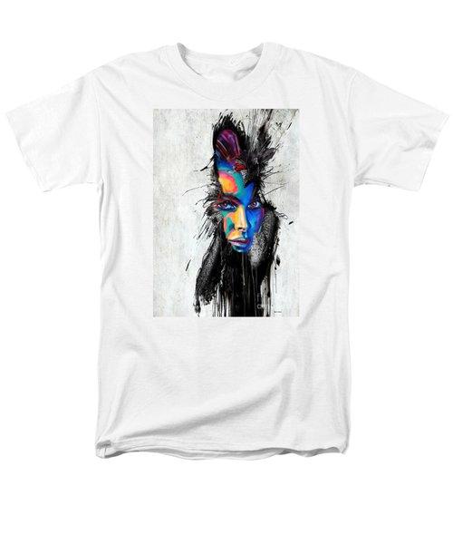 Facial Expressions Men's T-Shirt  (Regular Fit) by Rafael Salazar
