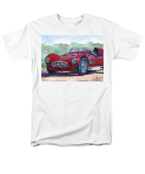 1954 Maserati A6 Gsc Tipo Mm Men's T-Shirt  (Regular Fit)