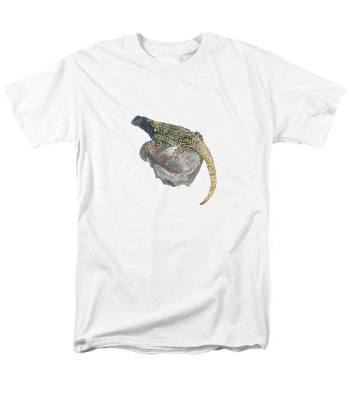 Argentine Lizard Men's T-Shirt  (Regular Fit) by Cindy Hitchcock