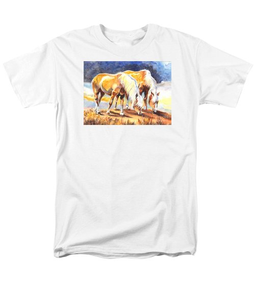 Men's T-Shirt  (Regular Fit) featuring the painting Best Pals by Carol Wisniewski