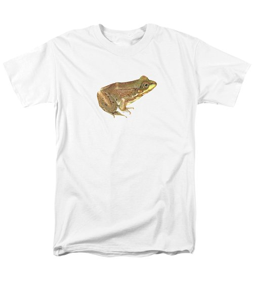 Green Frog Men's T-Shirt  (Regular Fit) by Cindy Hitchcock