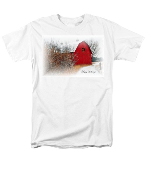 Happy Holidays Men's T-Shirt  (Regular Fit) by Terri Gostola