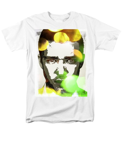 Justin Timberlake Men's T-Shirt  (Regular Fit) by Svelby Art