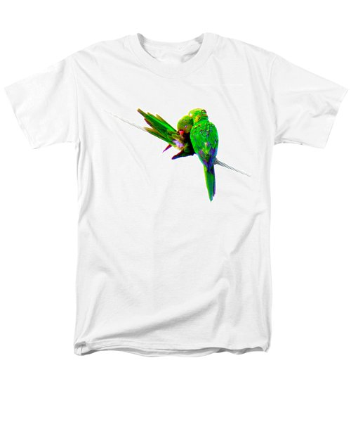Love Birds Men's T-Shirt  (Regular Fit) by J Anthony