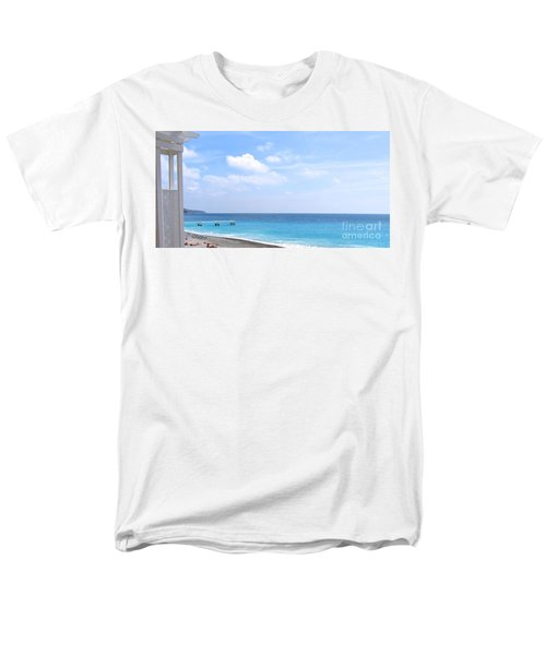 Nice  Men's T-Shirt  (Regular Fit) by Suzanne Oesterling