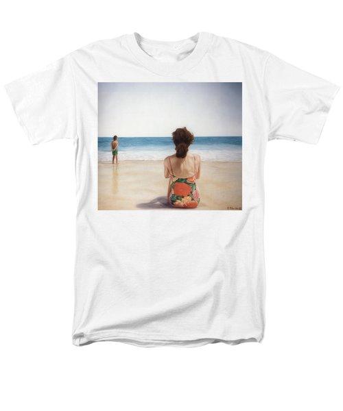 On The Beach Men's T-Shirt  (Regular Fit) by Rich Milo