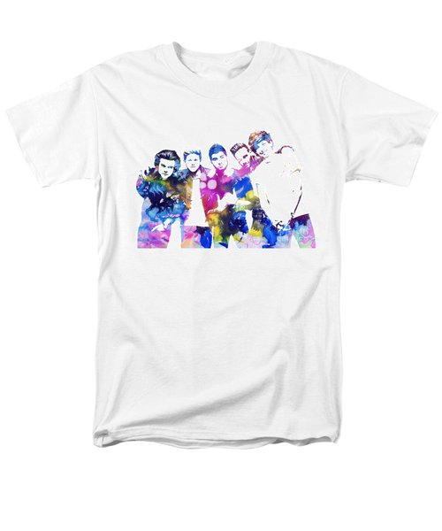 One Direction Men's T-Shirt  (Regular Fit) by Doc Braham