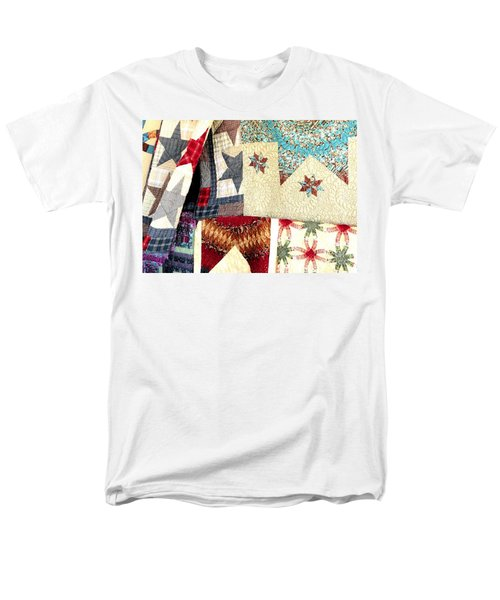 Men's T-Shirt  (Regular Fit) featuring the photograph Quilts For Sale by Janette Boyd