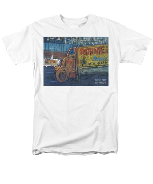 Men's T-Shirt  (Regular Fit) featuring the painting Ronnie John's by Donald Maier