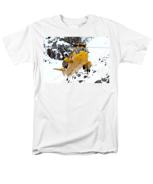 Seaking Helicopter Men's T-Shirt  (Regular Fit) by Paul Fearn