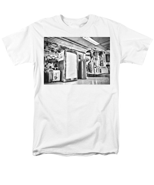 Sitting At The Counter Men's T-Shirt  (Regular Fit) by Peggy Hughes