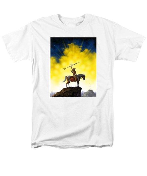 Men's T-Shirt  (Regular Fit) featuring the digital art The Signal by Scott Ross