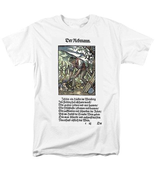 Vinegrower, 1568 Men's T-Shirt  (Regular Fit) by Granger