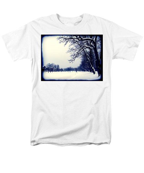 Winter Men's T-Shirt  (Regular Fit) by Nina Ficur Feenan