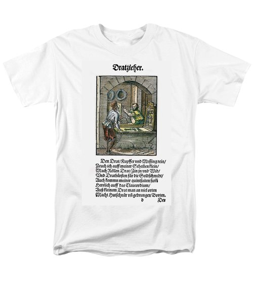 Men's T-Shirt  (Regular Fit) featuring the drawing Wiredrawer, 1568 by Granger