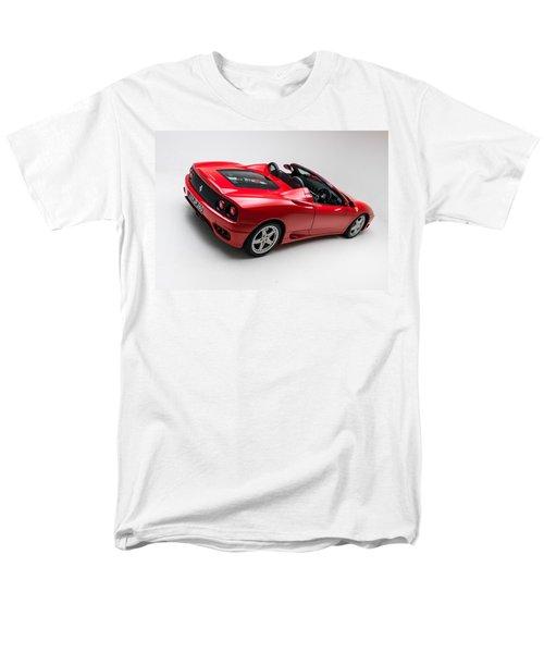 Men's T-Shirt  (Regular Fit) featuring the photograph 2002 Ferrari 360 Spider by Gianfranco Weiss