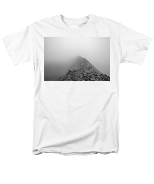 Helvellyn Men's T-Shirt  (Regular Fit) by Mike Taylor