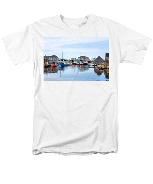 Peggys Cove Men's T-Shirt  (Regular Fit) by Kristin Elmquist