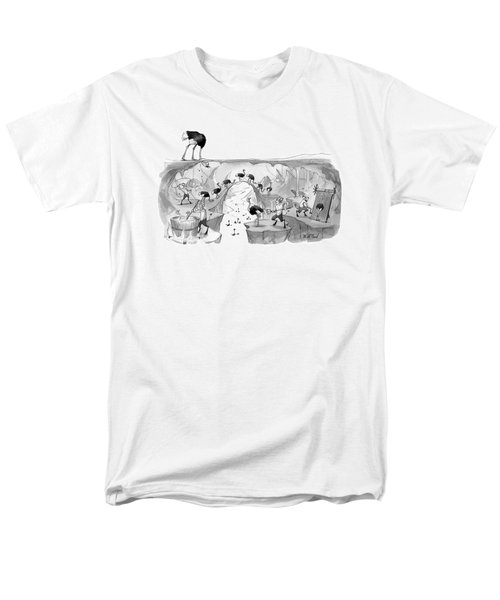 New Yorker October 31st, 2016 Men's T-Shirt  (Regular Fit) by Will McPhail