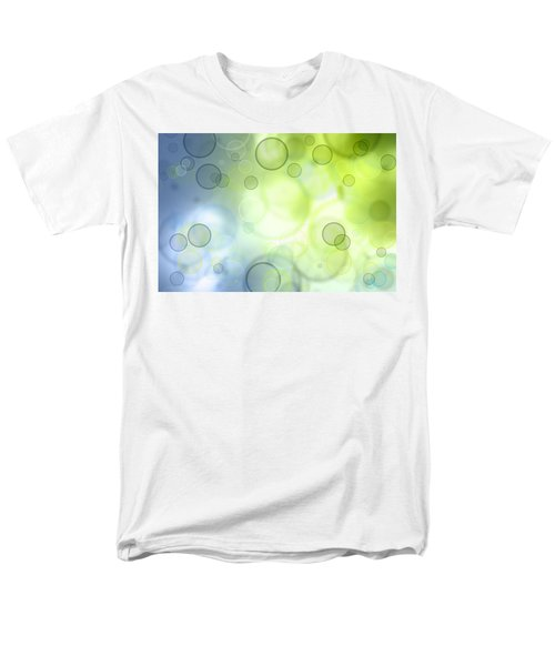 Abstract Background Men's T-Shirt  (Regular Fit) by Les Cunliffe