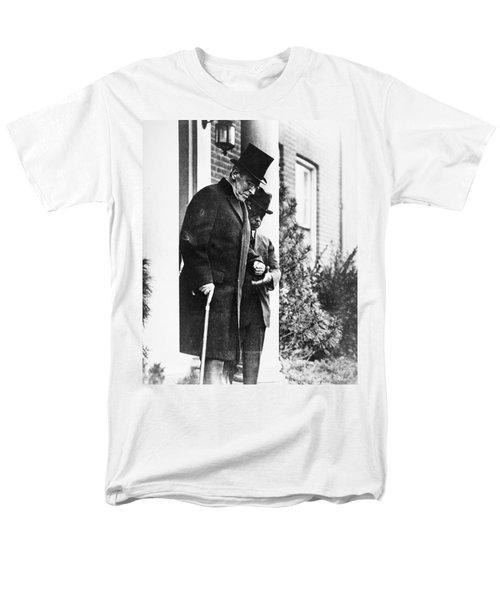 Men's T-Shirt  (Regular Fit) featuring the photograph Woodrow Wilson (1856-1924) by Granger