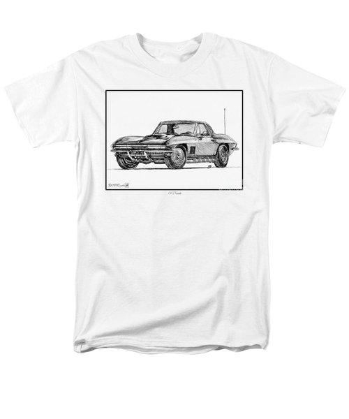 1967 Corvette Men's T-Shirt  (Regular Fit) by J McCombie