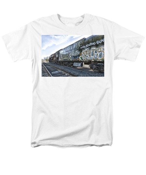 4 8 4 Atsf 2925 In Repose Men's T-Shirt  (Regular Fit) by Jim Thompson