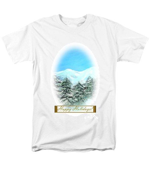 Happy Holidays. Best Christmas Gift Men's T-Shirt  (Regular Fit)