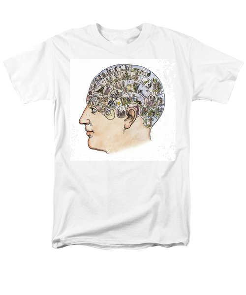 Men's T-Shirt  (Regular Fit) featuring the painting Phrenology, 19th Century by Granger