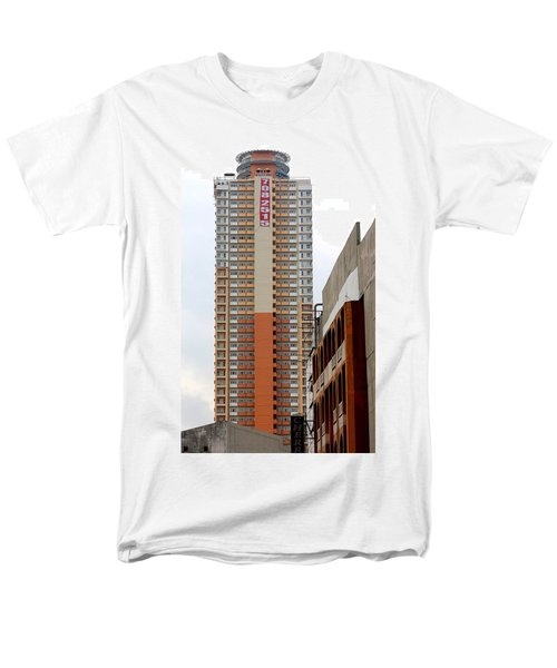 Men's T-Shirt  (Regular Fit) featuring the photograph 7082515 Building by Ester  Rogers