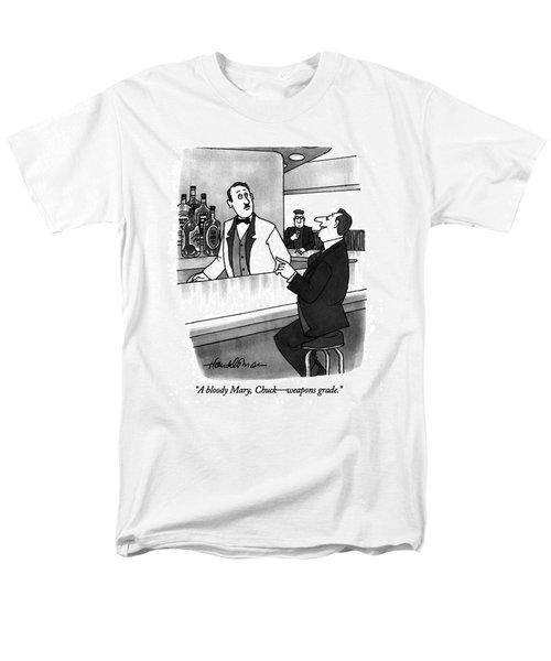 A Bloody Mary Men's T-Shirt  (Regular Fit) by J.B. Handelsman