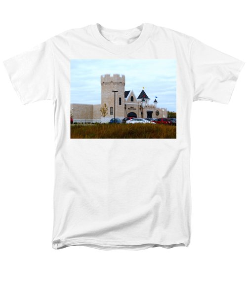 A Cheese Castle Men's T-Shirt  (Regular Fit) by Kay Novy