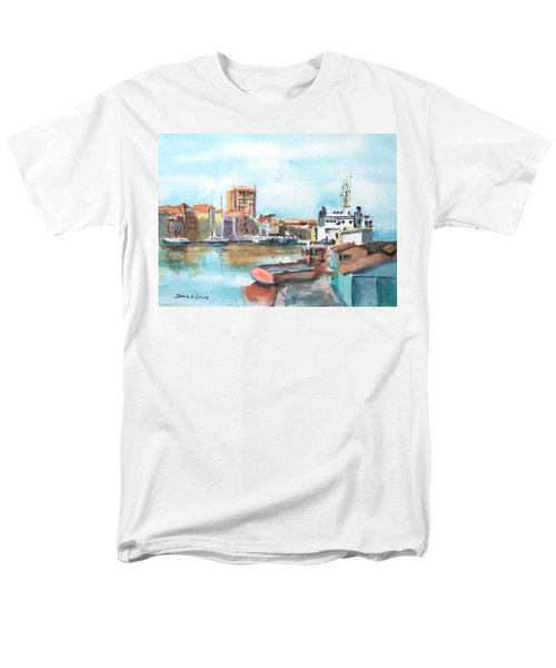 A Curacao Morning Men's T-Shirt  (Regular Fit) by Debbie Lewis