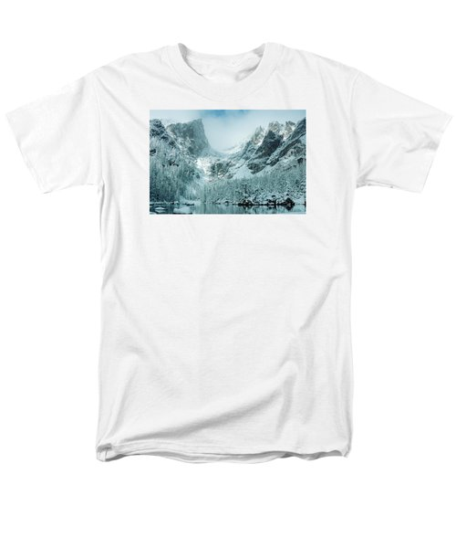 A Dream At Dream Lake Men's T-Shirt  (Regular Fit) by Eric Glaser