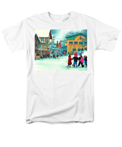 A Joyful Time Men's T-Shirt  (Regular Fit) by Michael Pickett