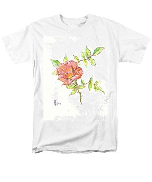 A Rose In Brigadoon Men's T-Shirt  (Regular Fit) by Kip DeVore