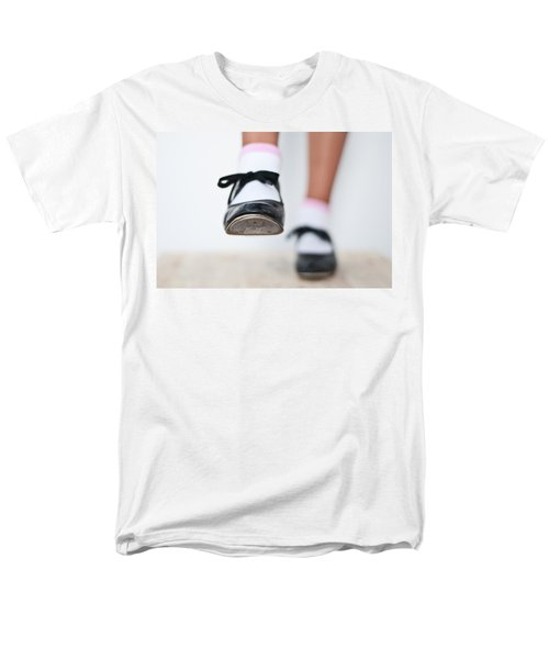Old Tap Dance Shoes From Dance Academy - A Step Forward Tap Dance Men's T-Shirt  (Regular Fit) by Pedro Cardona