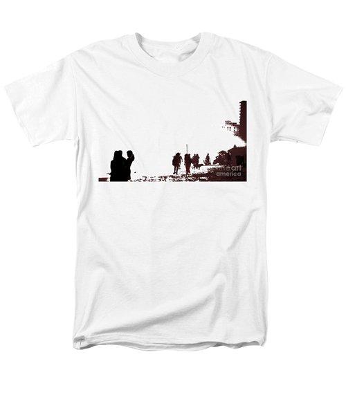 A Walk On The Beach Men's T-Shirt  (Regular Fit) by Gary Smith