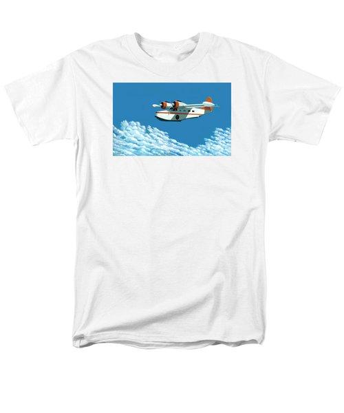 Above It All  The Grumman Goose Men's T-Shirt  (Regular Fit)