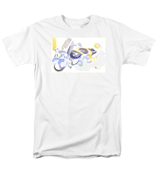 Abstract Motorcycle Men's T-Shirt  (Regular Fit)
