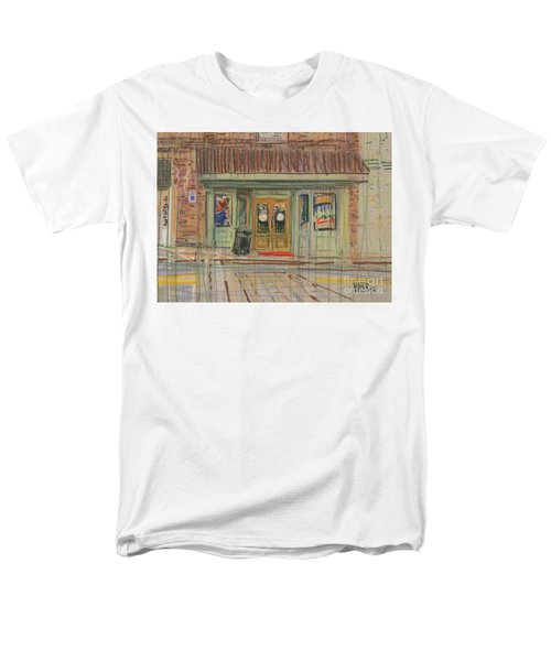 Men's T-Shirt  (Regular Fit) featuring the painting Acworth Shop by Donald Maier