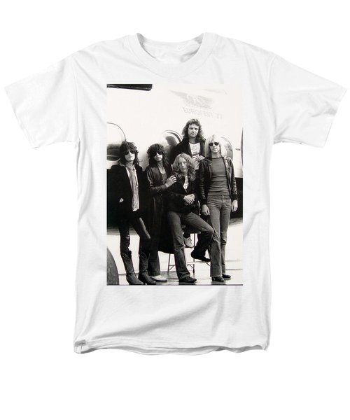 Aerosmith - Eurofest Jet 1977 Men's T-Shirt  (Regular Fit) by Epic Rights