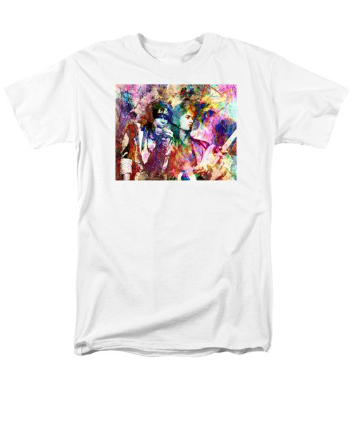 Aerosmith Original Painting Men's T-Shirt  (Regular Fit) by Ryan Rock Artist