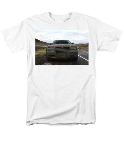 Aftermath Of The Mud Flood And Suddenly Things Went Dark Men's T-Shirt  (Regular Fit) by Lon Casler Bixby