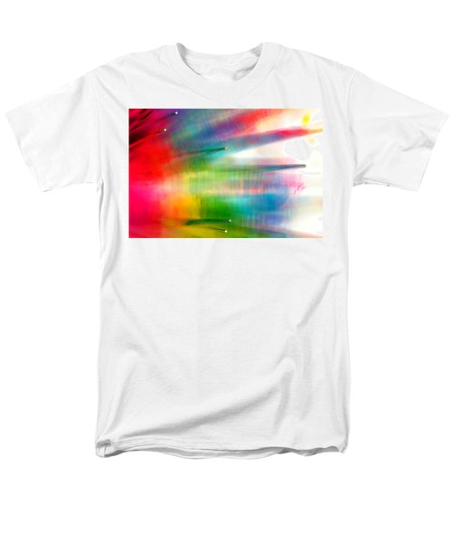Men's T-Shirt  (Regular Fit) featuring the photograph Age Of Aquarius by Dazzle Zazz
