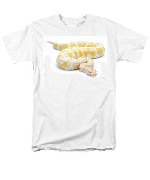 Albino Royal Python Men's T-Shirt  (Regular Fit) by Michel Gunther