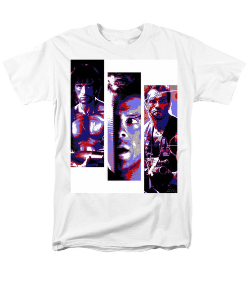 All-american 80's Action Movies Men's T-Shirt  (Regular Fit) by Dale Loos Jr
